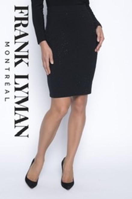 Frank Lyman sequin jersey skirt (193107U)