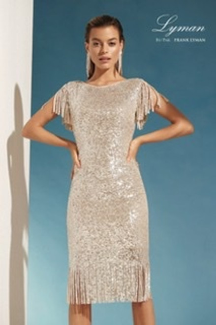 Lyman Fringe Dress (208115U)