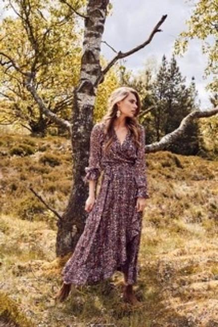 Molly Jo floral wrap dress (7825 70753)