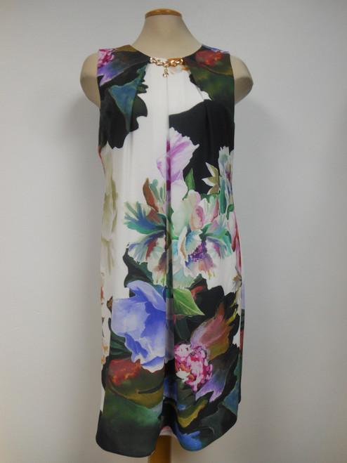 Frank Lyman Multi flower dress (181682)