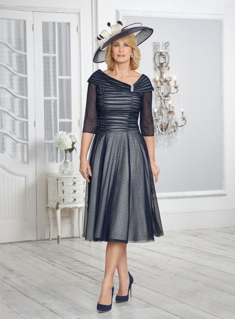 Condici Fifties Style Dress With Sleeves (71016)