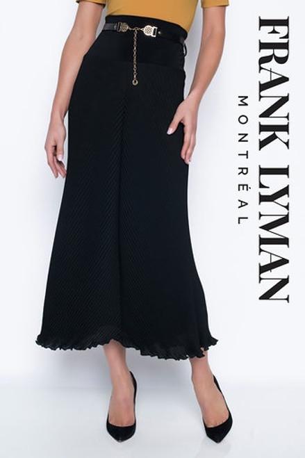 Frank Lyman Small Pleats Long Skirt With Belt (203256)