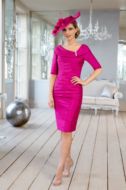 Ispirato Fitted Dress With Sleeves  (ISF806)