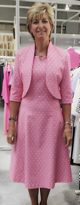 Tina Taylor spot bolero jacket (505739)