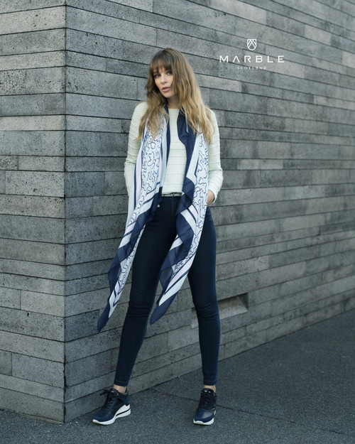Marble Large Scarf (5956)