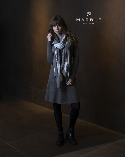 Marble Long Scarf  (5962)