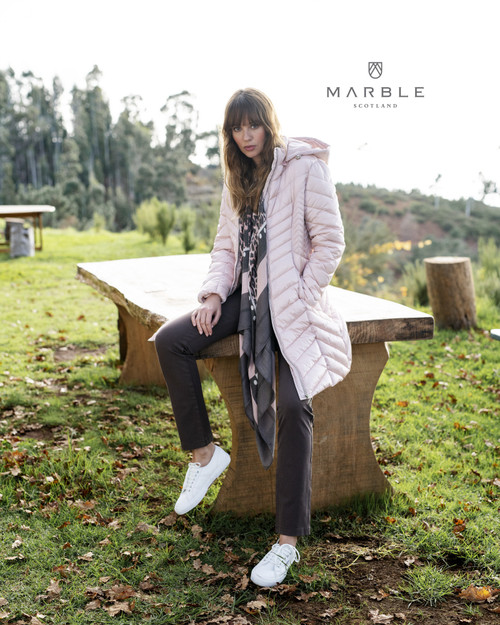 Marble Long Scarf  (5965)