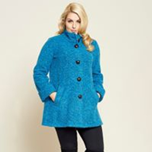 Personal Choice Turquoise Coat (PCAW17175)