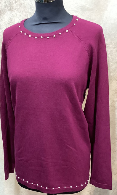 Micha pearl neck jumper (159182)