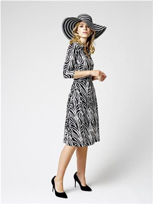 Tia Wrap Front Dress (78192)
