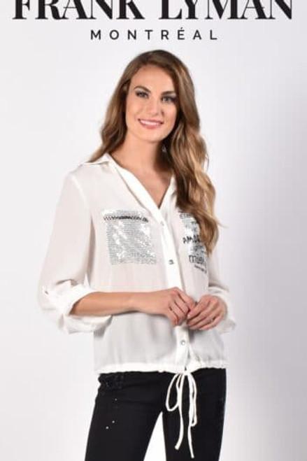Frank Lyman Black/White Shirt (216126U)