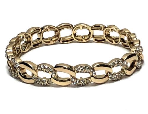 Mcb-9507 Gold Coloured Bracelet  ()