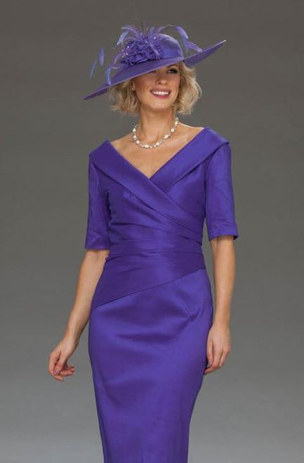Ispirato Vivid Violet dress (IU821)