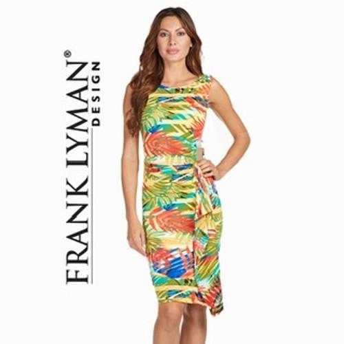 Frank Lyman tropical print dress (171170)