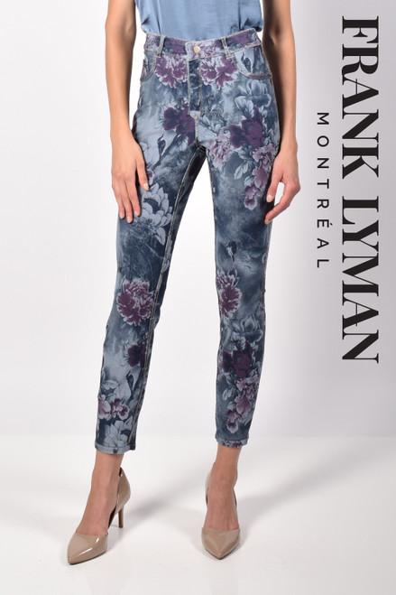 216102U Floral Printed Jeans