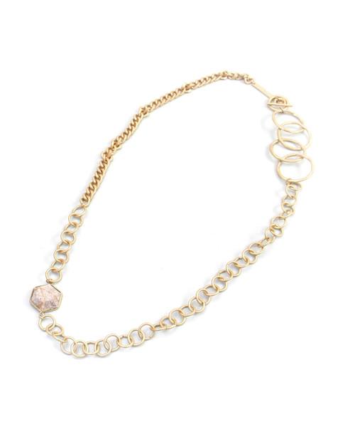 Long Loop Detail Necklace  (1402/N/G)