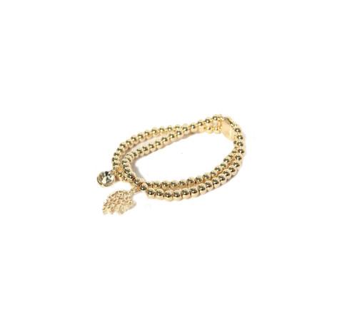 Layered Gold Bracelet. (944/GD/B/E)