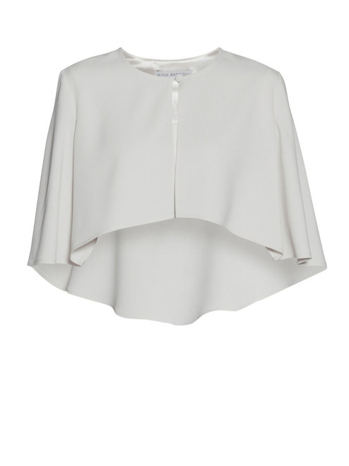 Gina Bacconi Cape (SNN720219). one button cape. ideal over a dress to add glamour and cover