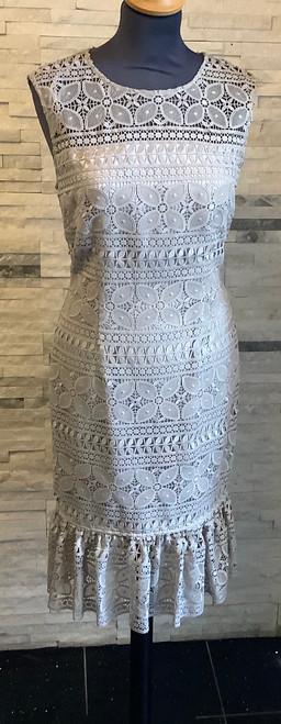 Gina Bacconi silver dress (SNN7004)