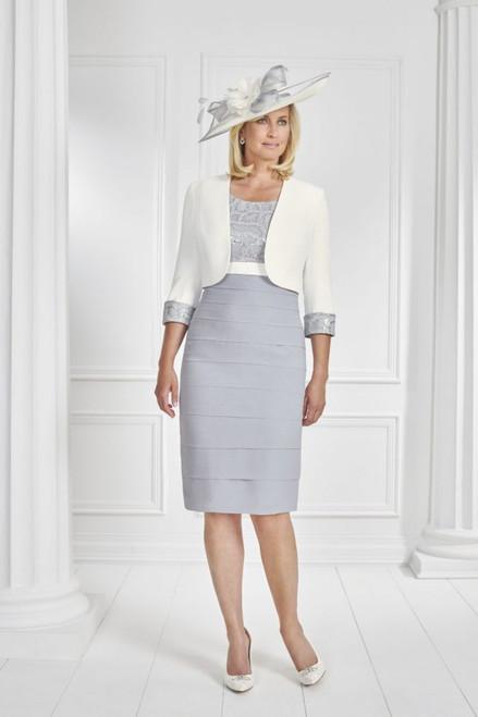 Condici Cream And Angelite Tiered Suit  (71060)