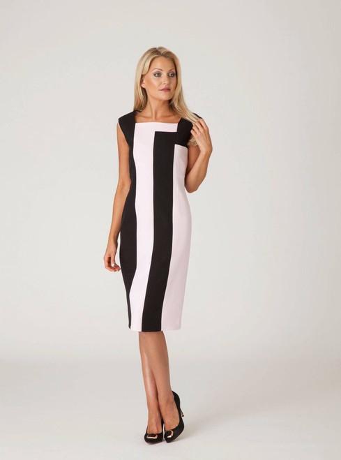 Kate Cooper Black/Pink 2 tone dress (KCS18181)
