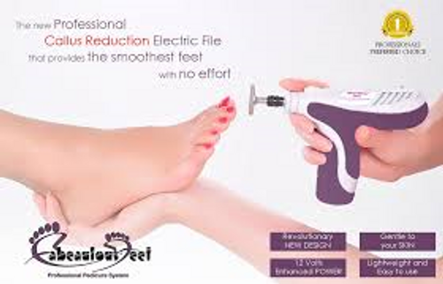 "PROFESSIONAL CALLUS REDUCTION ELECTRIC FILE   *Please call 403-720-6486 for ""Wholesale Pricing"" or email your order to beautyconnection@shaw.ca Thank You."