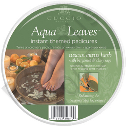 Star Nails Aqua Leaves Instant Themed Pedicures, Tuscun Citrus Herb (#3081)