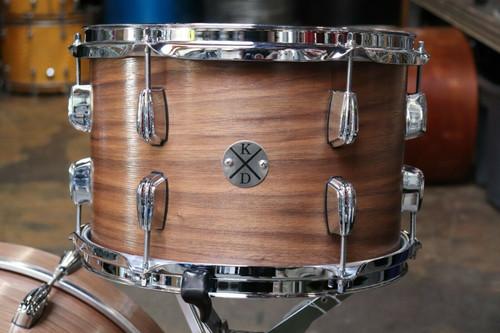 Klash Custom USA 4pc Walnut Drum Set