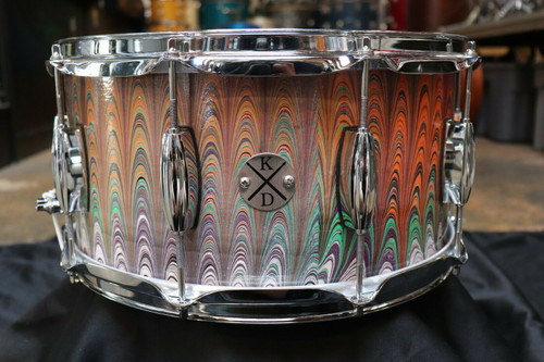 Klash Custom 7x14 Snare Drum Marbled