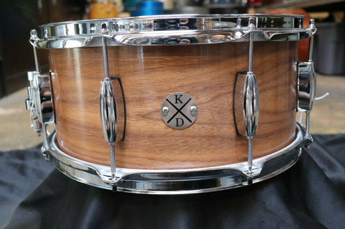 Klash Custom 6.5x14 Snare Drum Walnut
