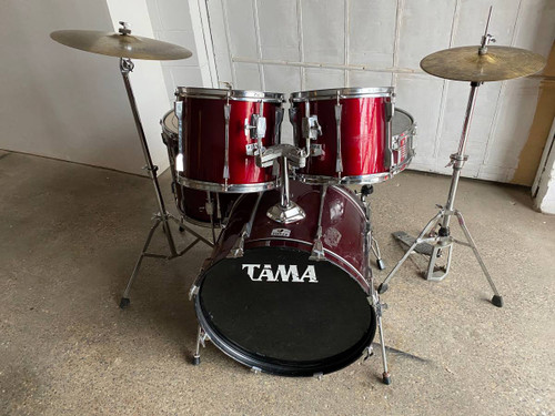 5pc Tama Rockstar Drum Set