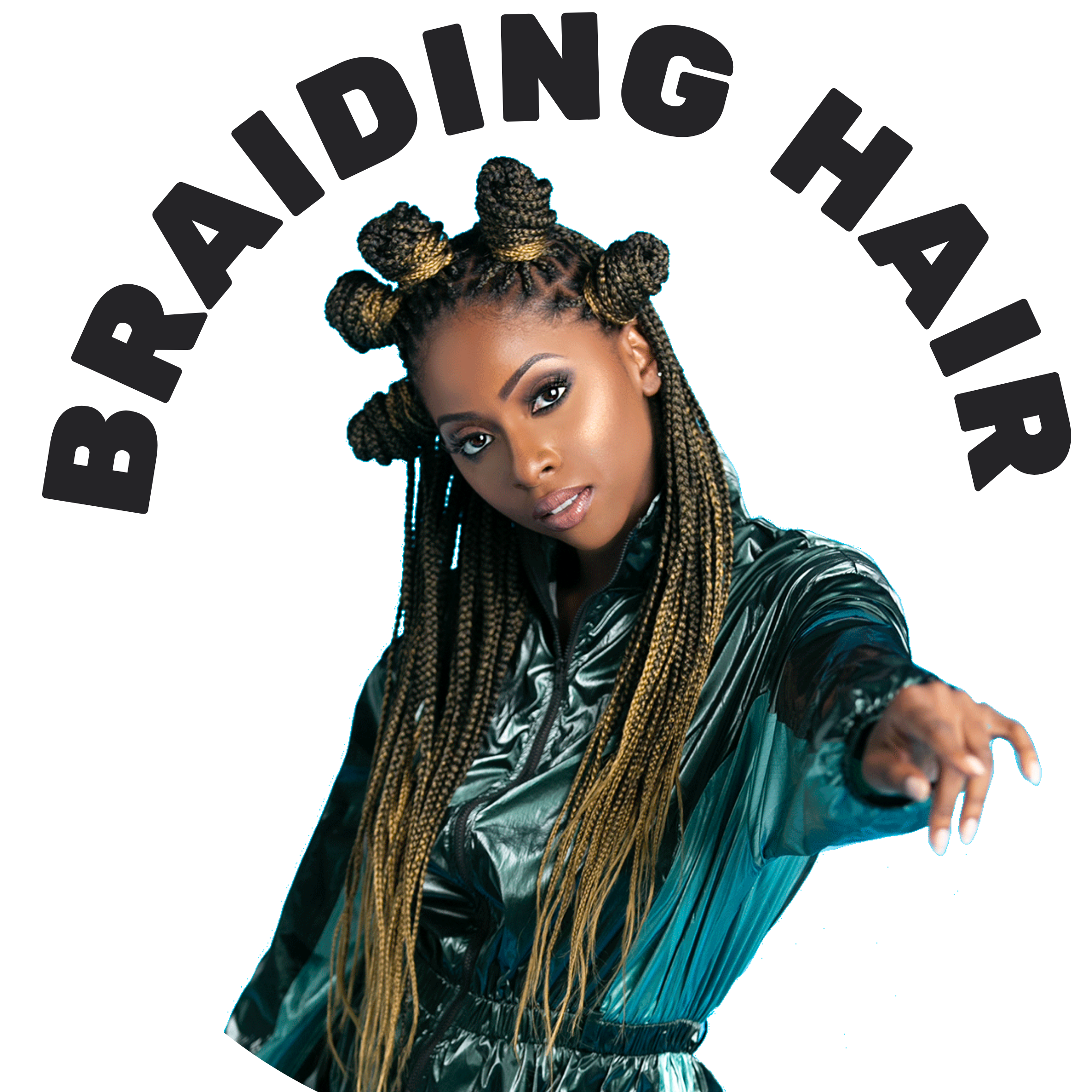 Braiding hair, marley hair, twiss, kinky hair, pretstretched hair for protective styles