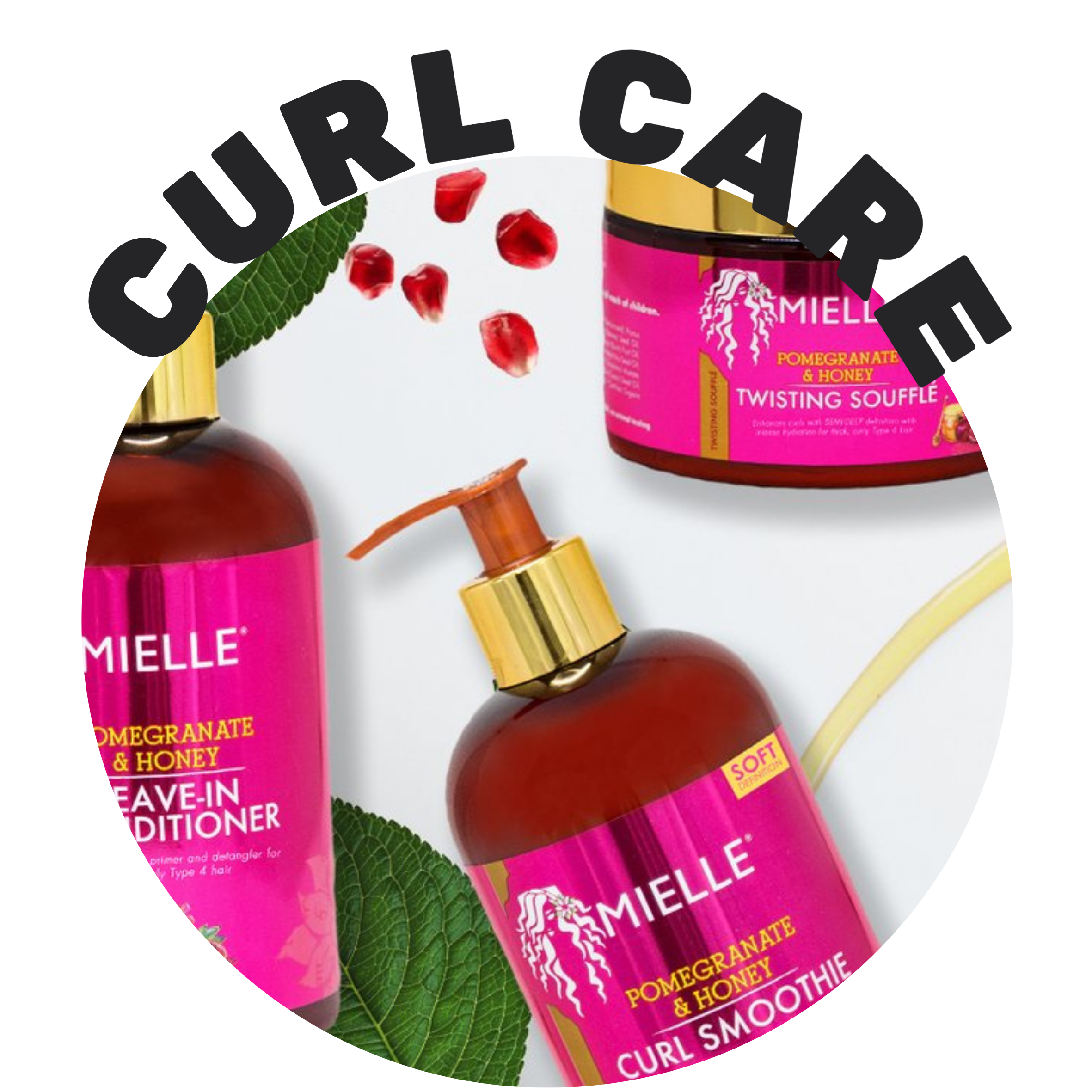 No matter the hair type a collection of curl care products for the whole family