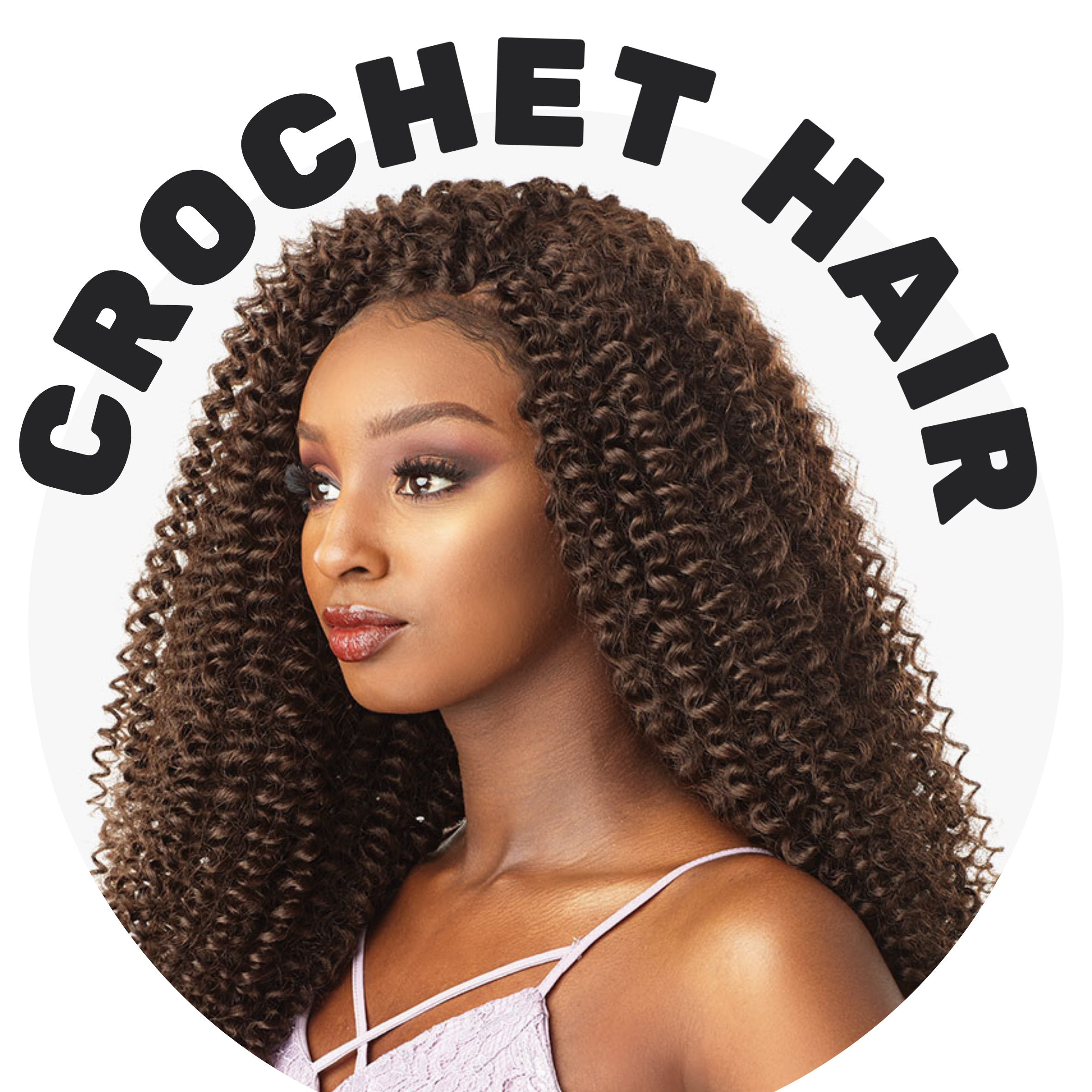 crochet hair for curls, waves, locs, twists all protective styles