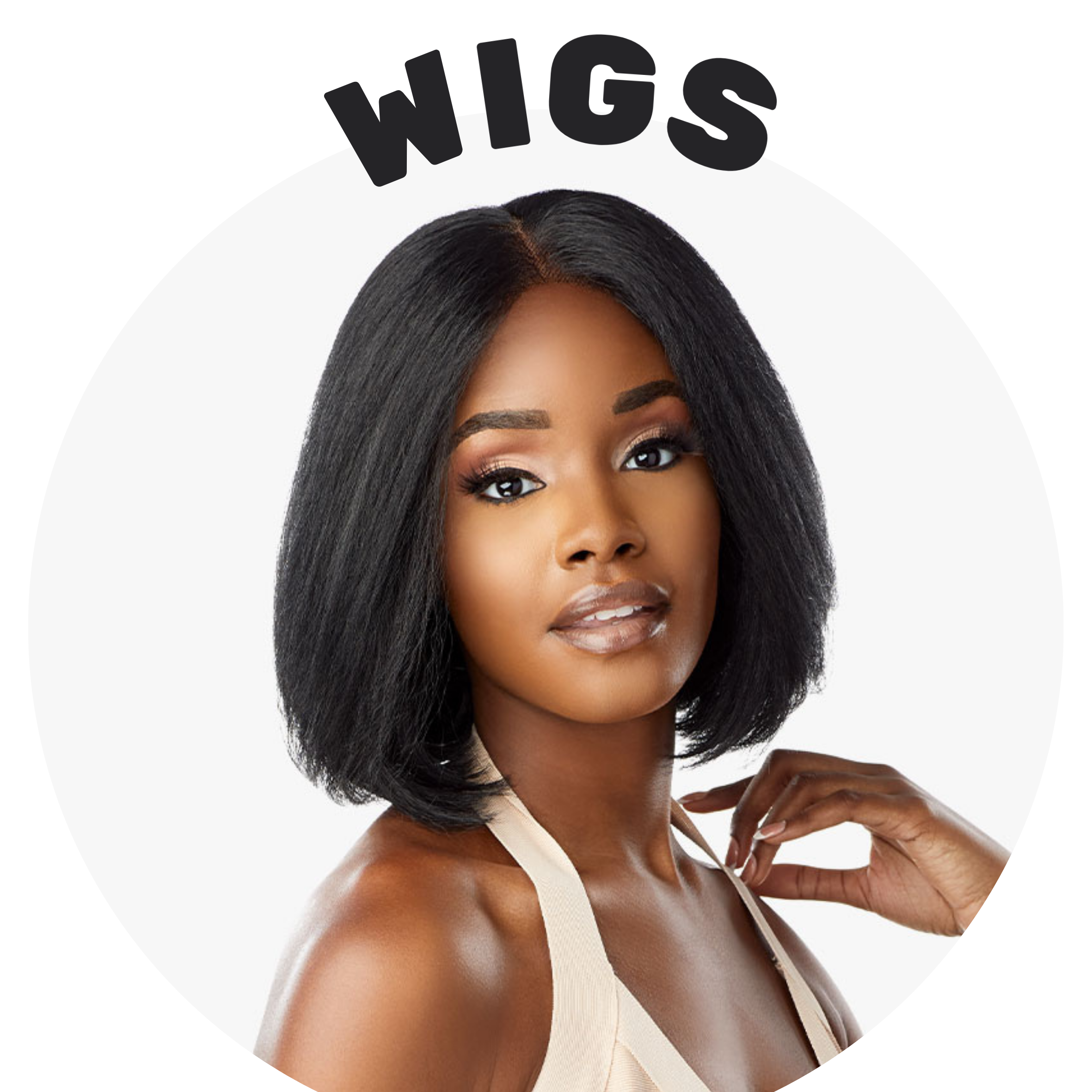 synthetic, human hair blend, human hair, full cap and lace front wigs affordable