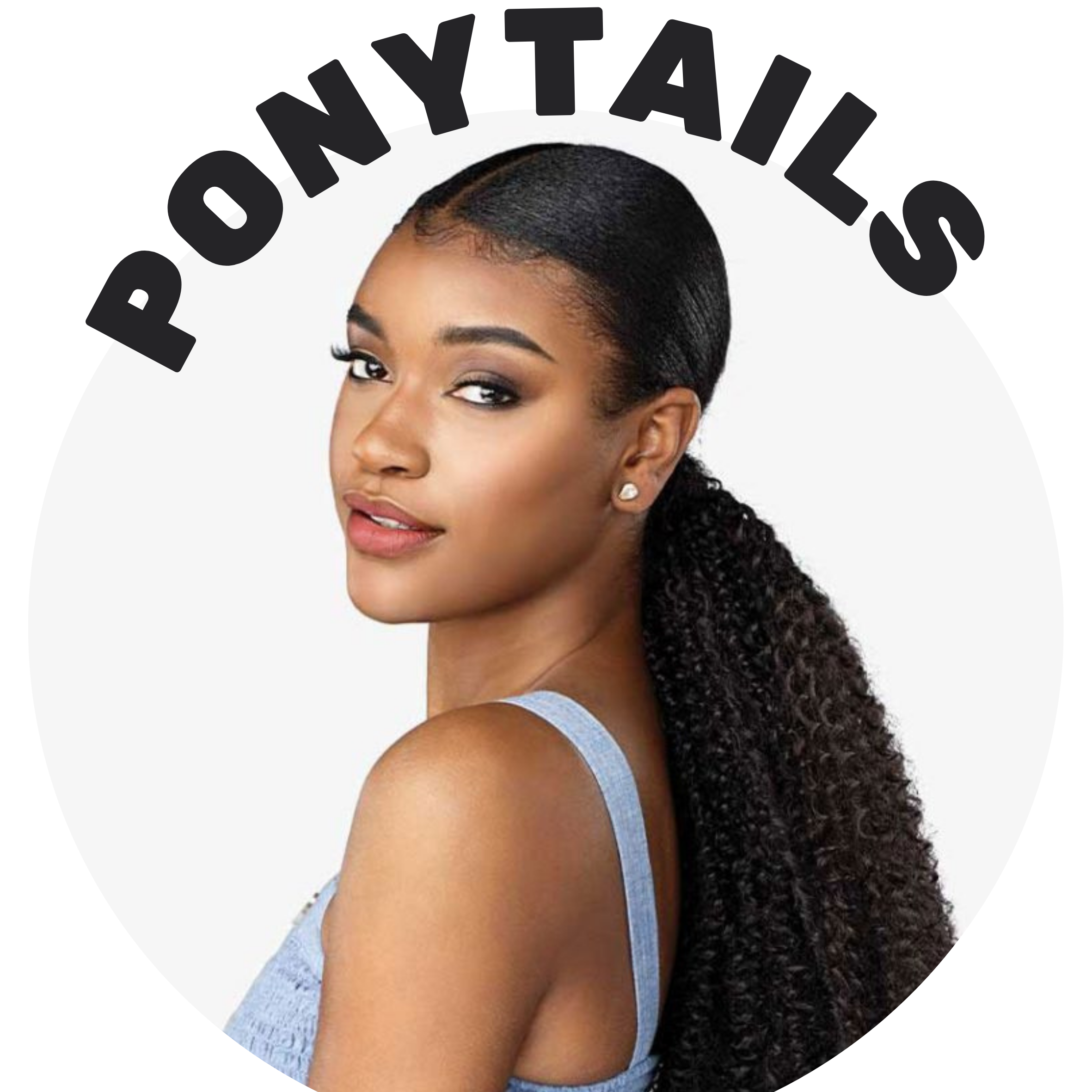 Ponytails and buns for a quick and easy updo