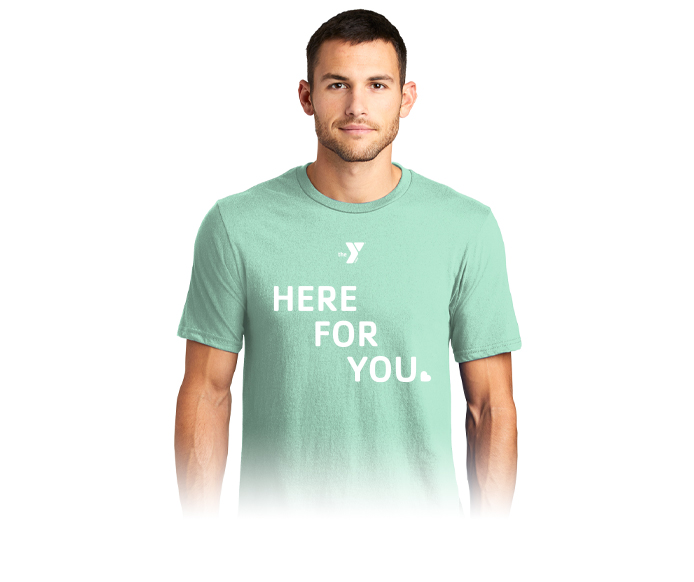 here for you tshirt
