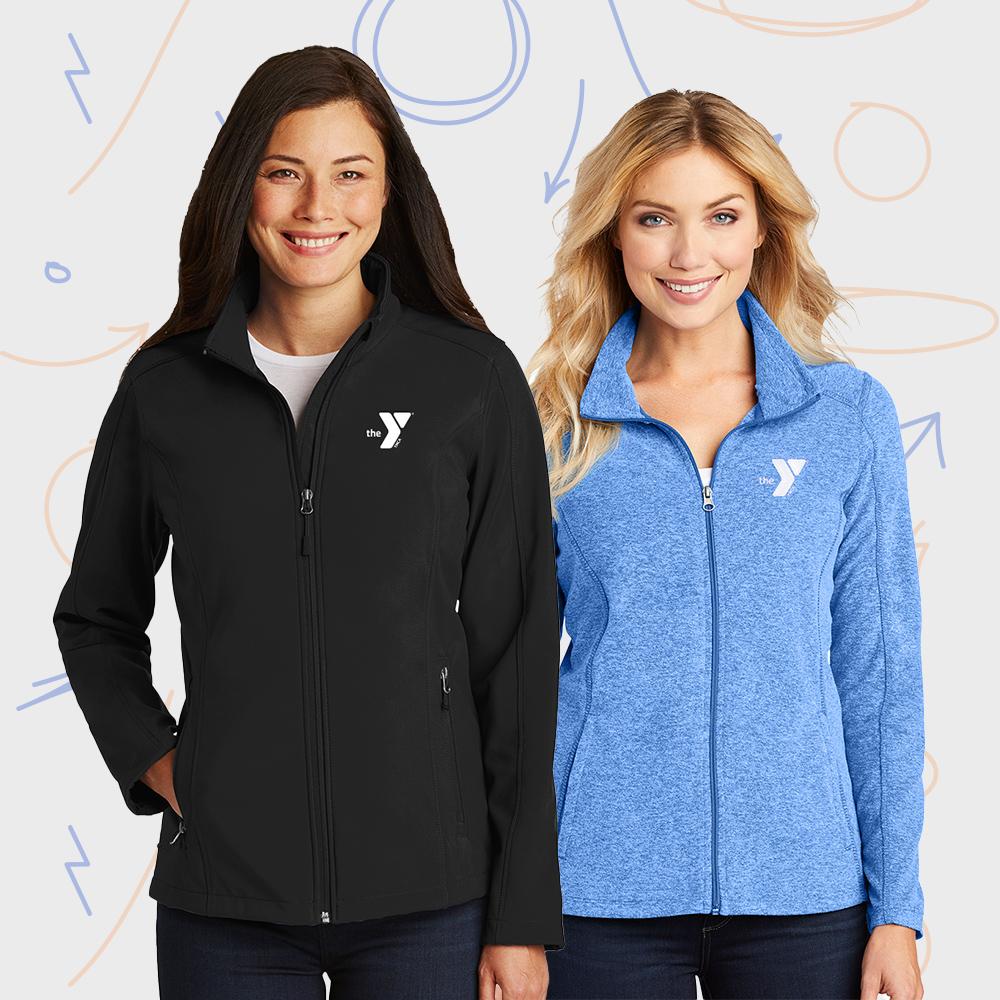 women wearing jackets