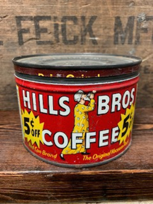 Hills Bros Coffee Can Candle