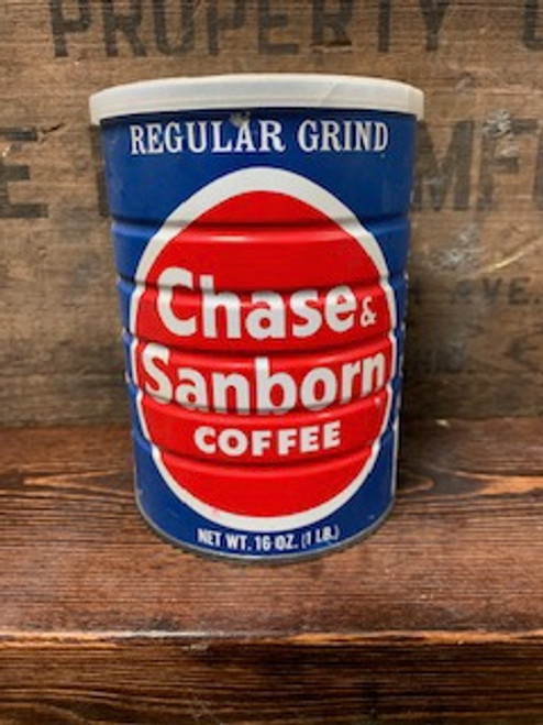 Chase & Sanborn Coffee Can Candle