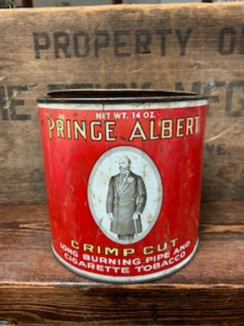 Prince Albert Can Candle