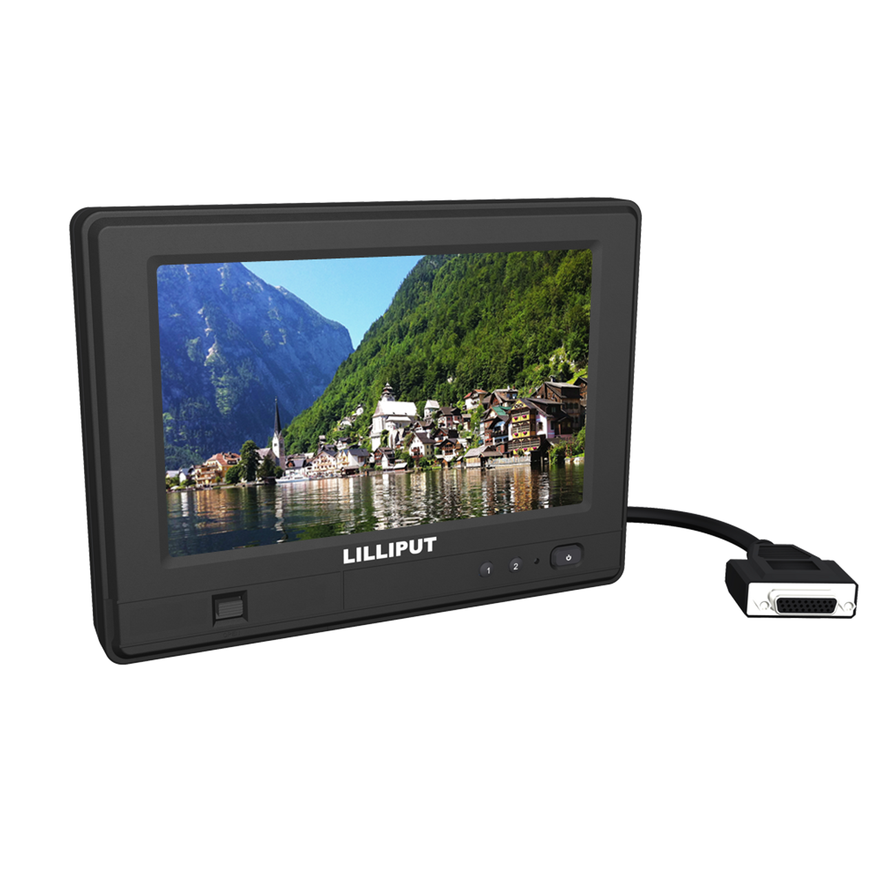 765GL-70NP/C/T  7 inch dustproof and waterproof touch monitor