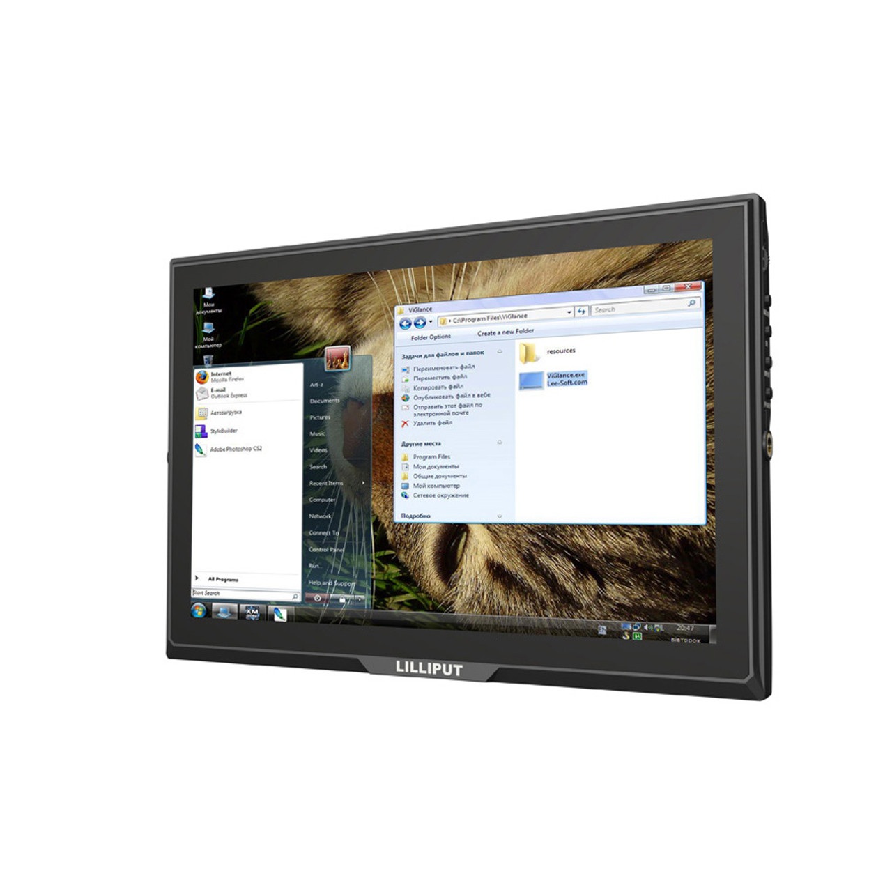 FA1014-NP/C/T 10.1 inch HD capacitive touch monitor