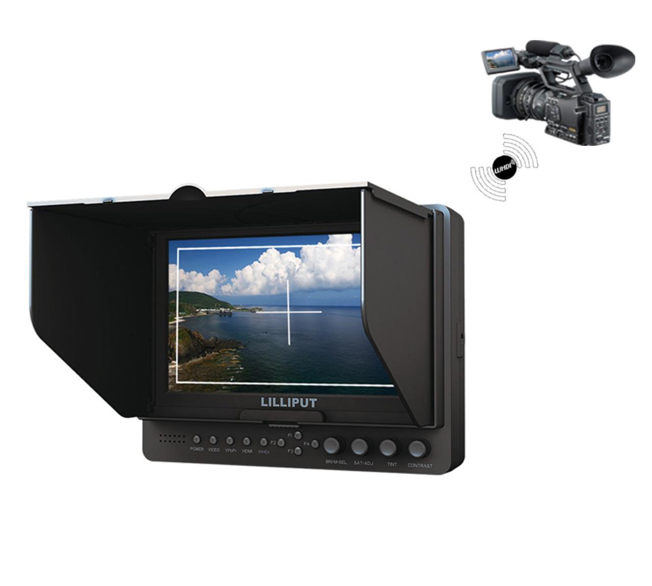 665/O/P/WH 7″ Wireless HDMI Monitor
