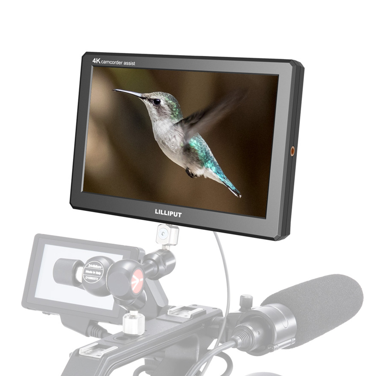 A8s Full HD 8.9 Inch Monitor with 4K camera assist with 3G-SDI