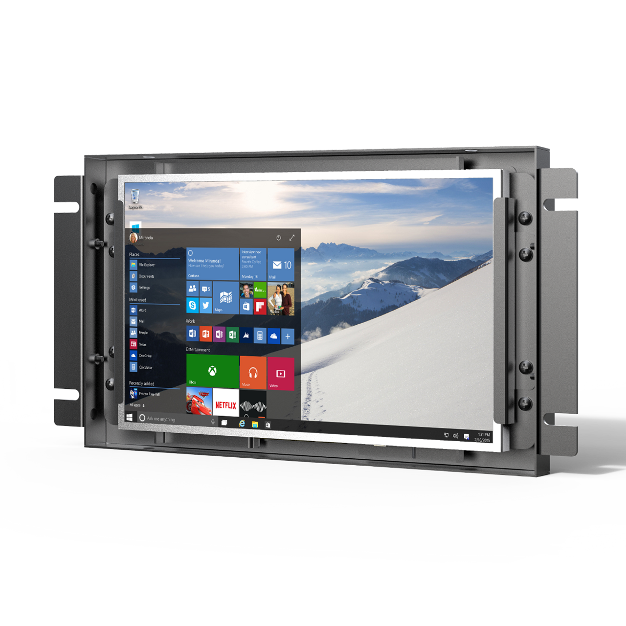 """TK700-NP/C/T 7"""" Industrial Touch Monitor"""