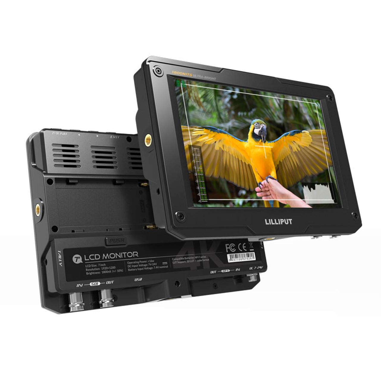 "H7S 7"" Ultra Brightness On-Camera Monitor"