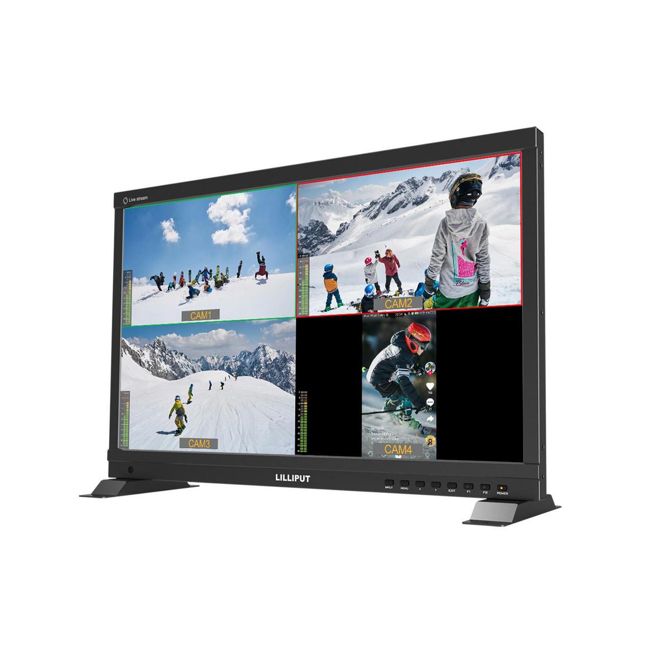 PVM220S 21.5 inch Live Stream quad split multi view monitor