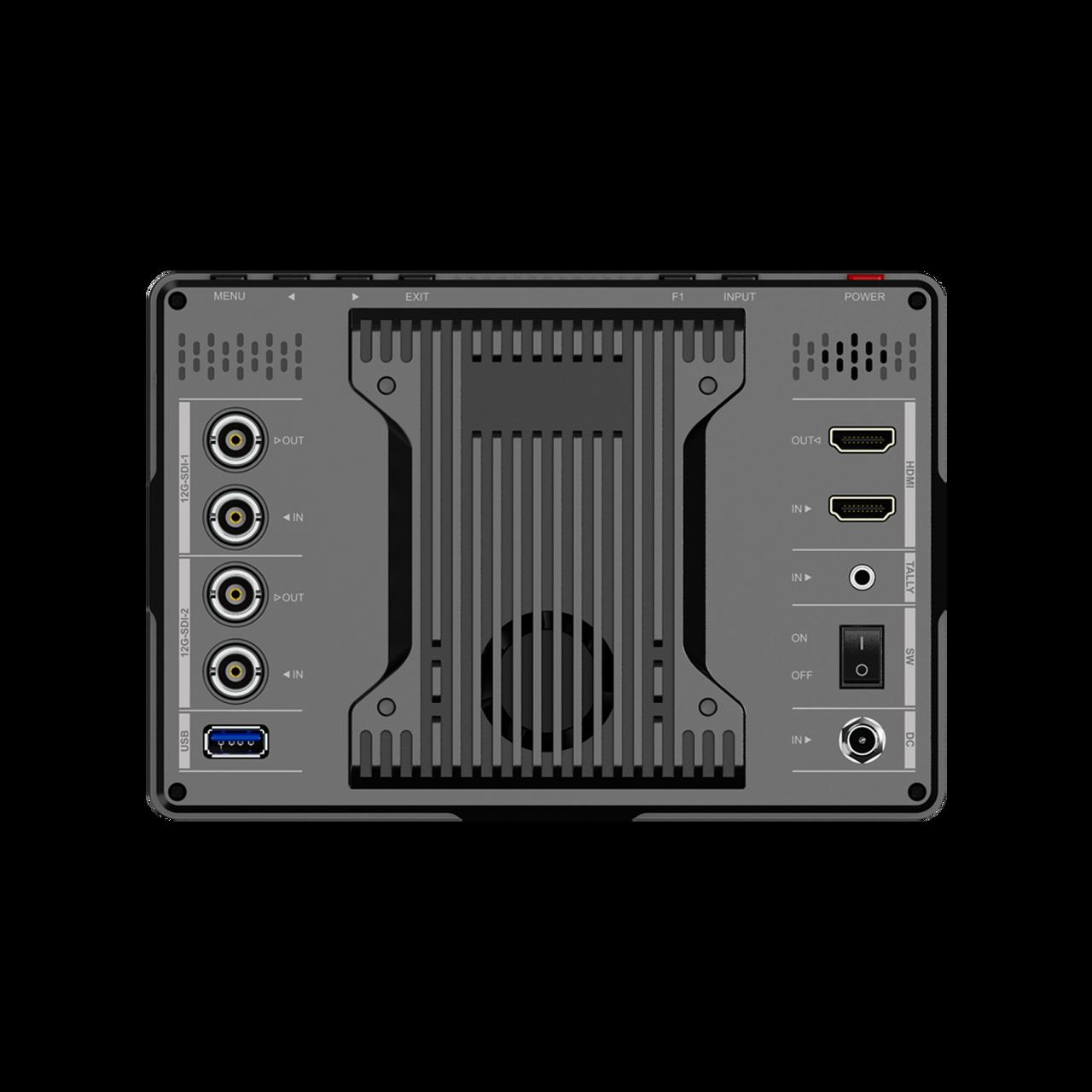 "Q7-12G  (7"" Full HD 12G SDI HDMI 2.0 2000 nits Brightness Monitor with HDR/3D LUTs)"