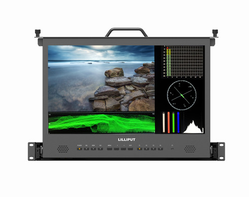 RM-1730S 17.3 inch Pull-out rackmount monitor